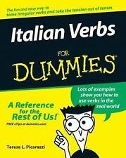 Italian Verbs for Dummies by Teresa L. Picarazzi (2006, Paperback)