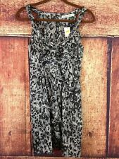 KARLIE NWT WOMANS DRESS SIZE MEDIUM FLOWY ORIGINAL $48.99 ANIMAL PRINT