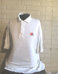 CLEVELAND BROWNS Reebok athletic authentic polo shirt men's XL