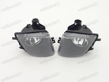 1Pair Clear Front Fog Lights Lamps For BMW 7-Series F01 F02 2009-2012