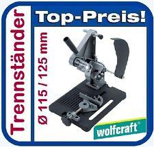 WOLFCRAFT 5019000 Trennständer Ø 115 / 125 mm für Winkelschleifer Trennständer