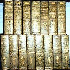 1911 JULES VERNE 15V #46-300 SETS SIGNED ROUND THE WORLD MOON SCI FI FANTASY ILL