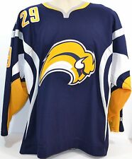 Jason Pominville #29 NHL Buffalo Sabres Hockey Jersey Men's Med CCM Licensed