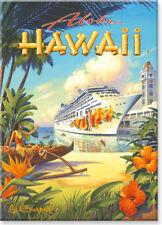 Hawaiian Art Collectible Refrigerator Magnet - Pride of Hawaii Kerne Erickson