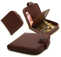 Porte-monnaie cuvette de très bonne qualité en cuir