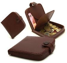 Homme Porte Monnaie Style Cuvette Bonne Qualité en Croûte de cuir