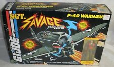 Gi Joe SGT Savage P-40 Warhawk MIP Collectors Quality