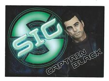 Captain Scarlet Spectrum Is Green Chase Card SIG6 Captain Black Cards Inc Good