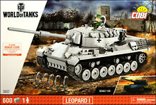 COBI Leopard I 1:35 (3037) - 600 elem. - German main battle tank