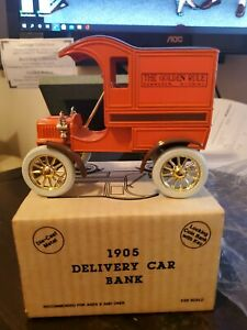 Ertl replica 1905 Delivery Car Bank The Golden Rule New