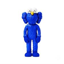 BRAND NEW RARE SOLD OUT 2017 MoMA Design Exclusive Kaws Bff Blue Vinyl Figure