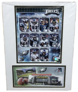 Lincoln Financial Field Philadelphia Eagles 12X16 Matted Photo Cover Stamp USPS