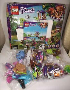 LEGO Friends Jungle Rescue Base Treehouse Vet Set - 41424 - New -Free Uk Post
