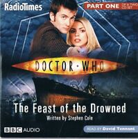 Doctor Who - The Feast Of The Drowned Part 1 & 2 -   Audio CD N/Paper