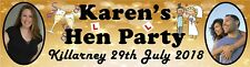 Hen Nite Party Banner Poster personalized with photos - just ask??