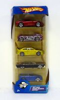 HOT WHEELS DUAL COOL 5-CAR GIFT PACK Die-Cast Cars MIB COMPLETE 2004