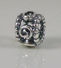 Authentic Genuine Pandora Silver Ring of Roses Charm