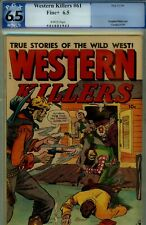 WESTERN KILLERS #61 PGX 6.5- FINE+ 1948 FOX- L. STARR ART-WHITE PAGES