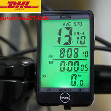 Funk Fahrrad MTB Radfahren LCD Fahrradcomputer Tachometer Fahrradtacho SM SD-5Co