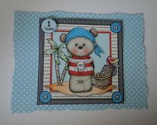 PK 2 PIRATE BEAR *1 TODAY* EMBELLISHMENT TOPPERS FOR CARDS/CRAFT