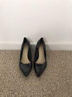Size 40 Zara Womenswear Black Shoes Work Smart Party Shoe