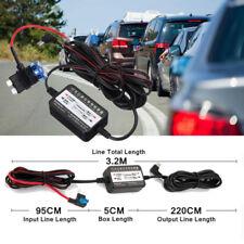 3.2m Car Dash Cam Fuse Hard Wire Kit DVR GPS Navigation 12-30V To 5V Micro USB
