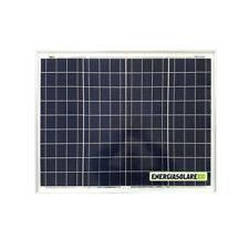 Pannello Solare Fotovoltaico 50W 12V 4 BUS BAR Auto Camper Nautica Allarme