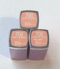 3 Maybelline Colorsensational Rebel Bloom Collection Lipstick 700 Barely Bloomed