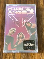 Charlie's Angels Soundtrack ‎Cassette V/A Ariana Grande Miley Cyrus Sealed New