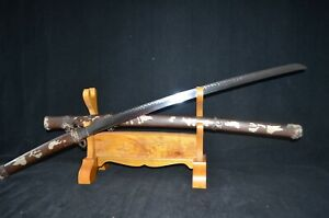Collectable Japanese Samurai Tachi Sword Katana Brass Saya Real Sharp blade