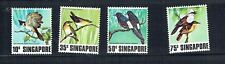 Singapore 1978 Birds set unmounted mint