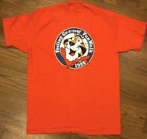 Vintage 1988 Tony The Tiger Kelloggs Shirt Mens XL USA