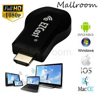 EZ Cast HDMI 1080P TV Stick WiFi Display Receiver Dongle Miracast DLNA Airplay