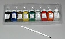 Testors Acrylic Value Finishing Kit paint set 1/4 oz paints new 9196