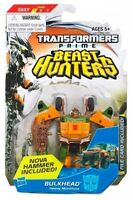 "TRANSFORMERS BEAST HUNTERS BULKHEAD 4"" FIGURE COMMANDER CLASS BRAND NEW"