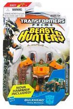 "TRANSFORMERS BEAST HUNTERS BULKHEAD 4"" FIGURE COMMANDER CLASS BRAND NEW"