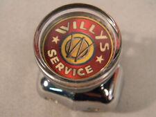 WILLYS SERVICE SUICIDE STEERING WHEEL SPINNER KNOB