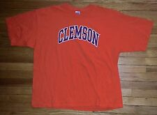 Solid Orange Black White Letters 2XL CLEMSON Gideon T-Shirt! s3102