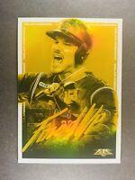 2020 Topps Fire Baseball Fired Up Gold Nolan Arenado Colorado Rockies FIU-10