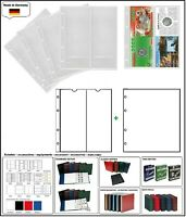 10 LOOK 312944 MÜNZHÜLLEN NUMOH NH-2VC 2x  210x81mm + ZWL-W Für Münzfolder