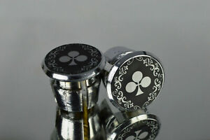 Colnago Arabesque silver Handlebar End Plugs Bar Caps lenkerstopfen bouchons New