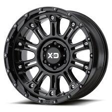 17 Inch Black Wheels Rims XD Series Hoss 2 Black Jeep Wrangler JK XD82979050312N