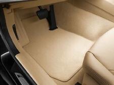 BMW Carpeted Floor Mats Beige Tan F30 F31 F80 3 Series M3, FRONT + REAR Carpet