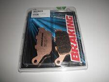 BRAKING PASTIGLIE FRENO POSTERIORI 711CM56 TRIUMPH TIGER XC ABS 800 2012 2013