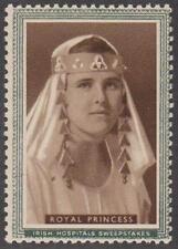 Ireland Irish Hospital Sweepstakes Cinderella Women Series Royal Princess 1950s