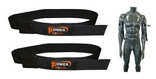 MAX BICEP STRAP Occlusion Muscle Training Bands -1Pair BLACK