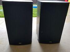 Boston Acoustics CR6 Black Speaker Set Great Sound 8 ohm Pair CR 6