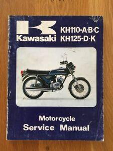 Kawasaki KH125  Workshop service manual , 1980 - 1982   See below