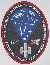 Aufnäher Patch Raumfahrt NASA STS-125 Space Shuttle Atlantis ..........A3046