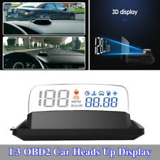 5 inch Multifunctional L3 OBD2 Heads Up Display Car HUD with Reflection Board